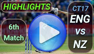 ENG vs NZ 6th Match