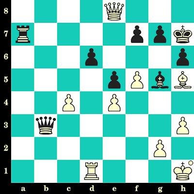 Les Blancs jouent et matent en 2 coups - Zhu Chen vs Ioannis Papaioannou, Gerani, 2003