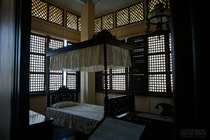 Jose Rizal's birthplace - girl's bedroom