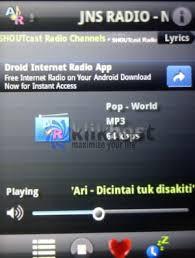 Cara Mendengarkan Radio Shoutcast di Android - Angsana Computer