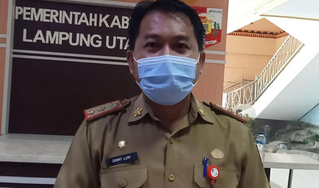 Salah Satu Anggota DPRD Lampura Terpapar Covid, Total Penderita 330