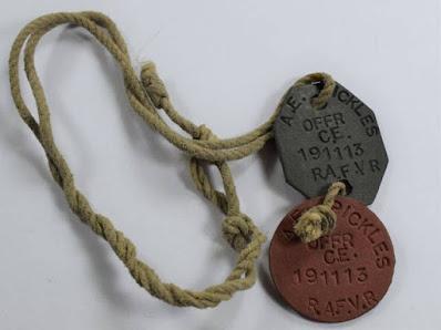 Las Chapas de Identificación en la Segunda Guerra Mundial