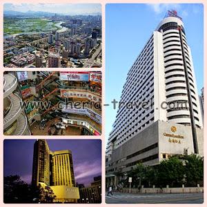 Shenzen, Lowu Mall, B.W Felicity Hotel, Century Plaza Hotel