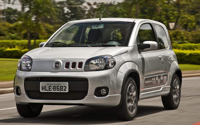 Fiat Uno 2019 terá elevação de preços