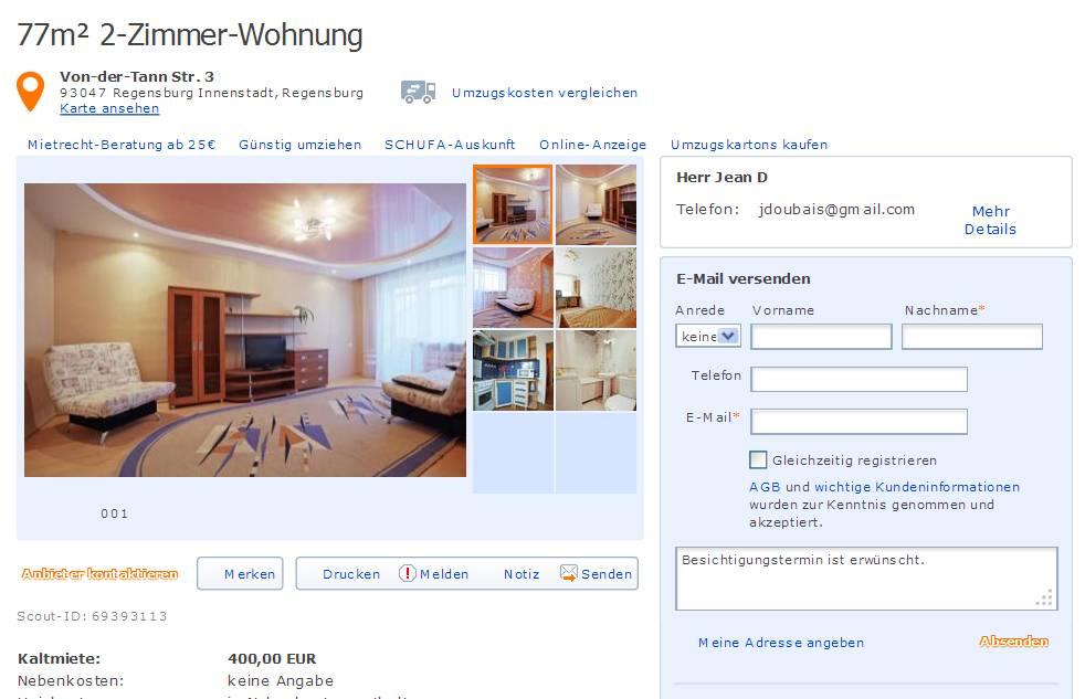 Zimmer Wohnung Duisburg