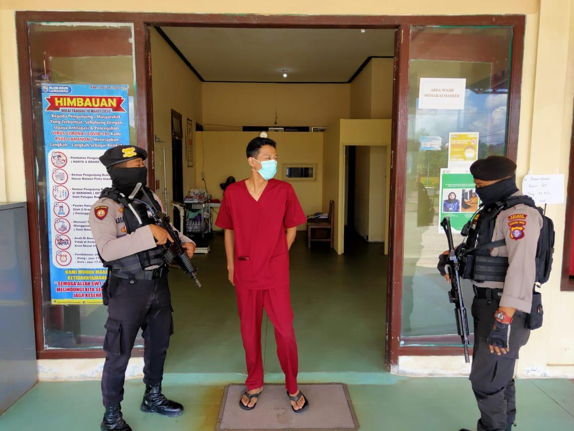 Berikan Rasa Aman, Satsabhara Patroli Dialogis ke Rumah Sakit