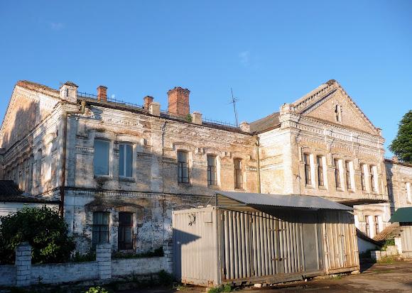 Конотоп. Залізничне училище. 1890 р. Пам'ятка архітектури