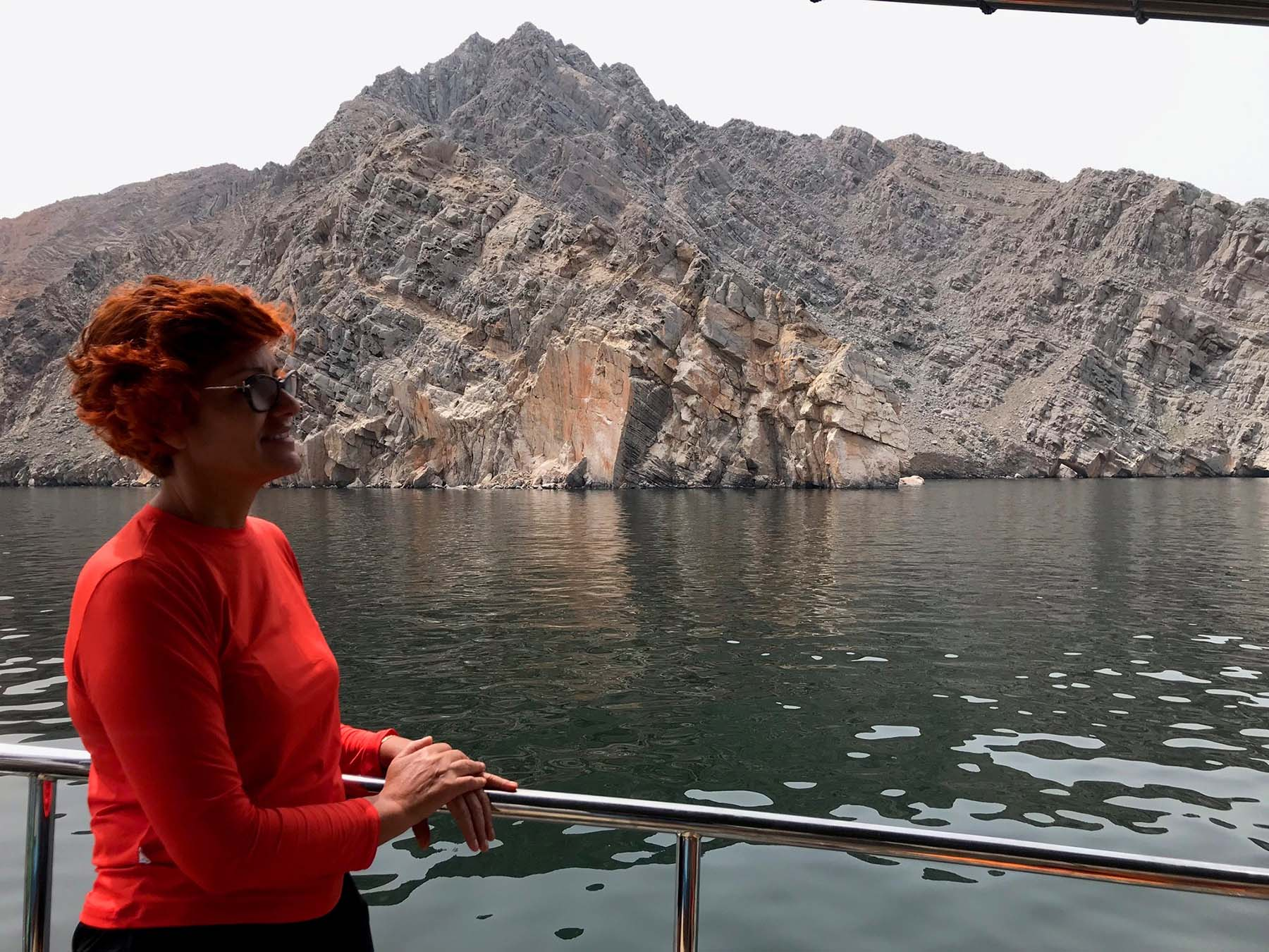 Fiordes Musandam em Omã