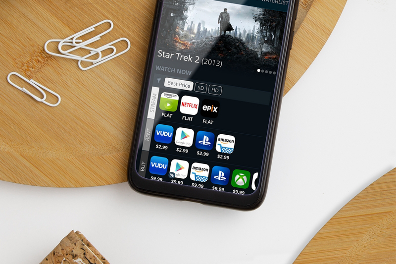 Find Streaming Platforms for any Movie With a Tap.