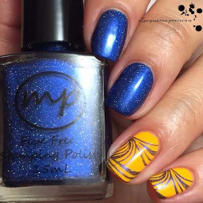 nail polish swatch of Joy by m polish