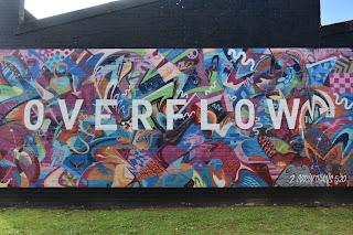 Belmore Street Art | 'Overflow' mural at the Embassy Church