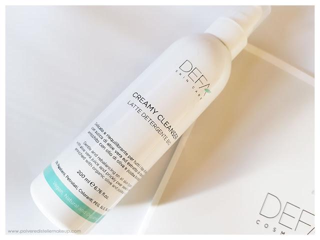 Creamy Cleanser Latte Detergente Defa Cosmetics