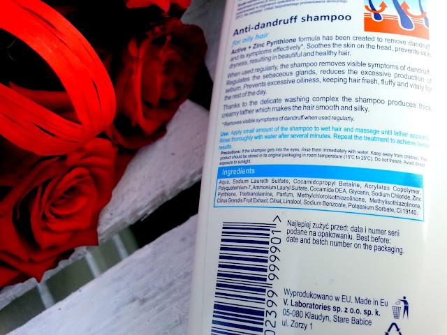 skład szamponu