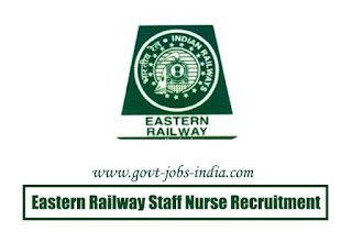 How to Apply Eastern Railway Staff Nurse Recruitment 2020