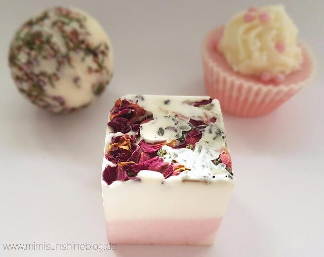 Badefee Badewürfel Sinnliche Rose