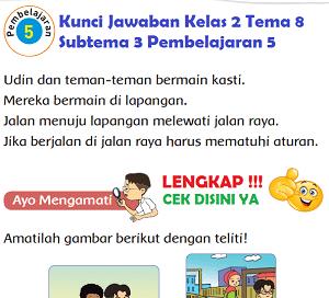 Kunci Jawaban Kelas 2 Tema 8 Subtema 3 Pembelajaran 5 www.simplenews.me