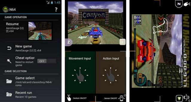 تحميل محاكي Nintendo 64 للاندرويد
