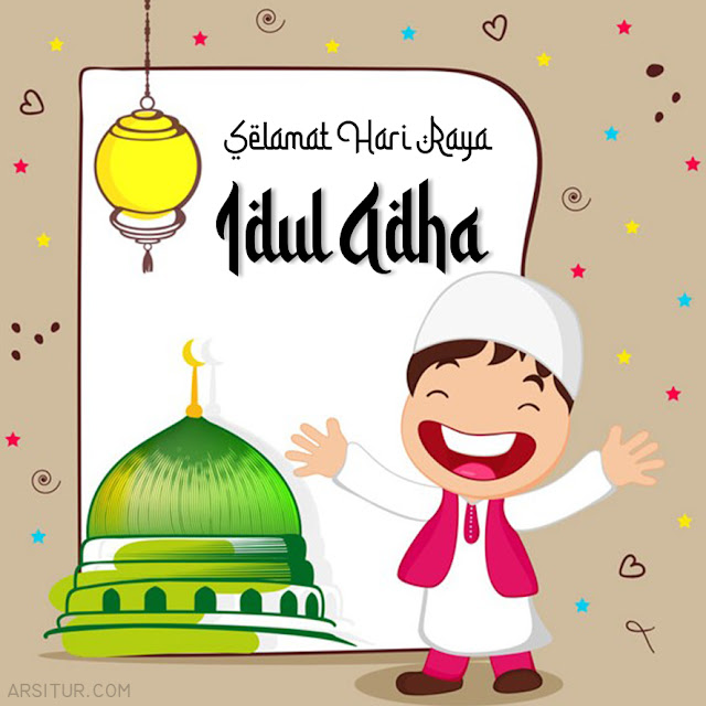 Kumpulan Kartu Ucapan Idul Adha, Template Kosong Bisa Edit