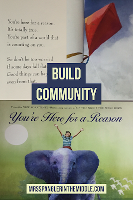 One of the best books to use to build community in your classroom!