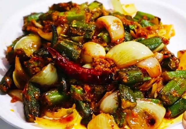 Bhindi do Payza Recipe