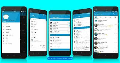 BBM BlackID v5 Official Mod Apk