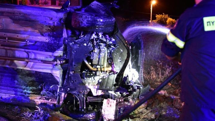 Δύο νεκροί σε τροχαίο στην παλαιά εθνική οδό Θεσσαλονίκης - Καβάλας