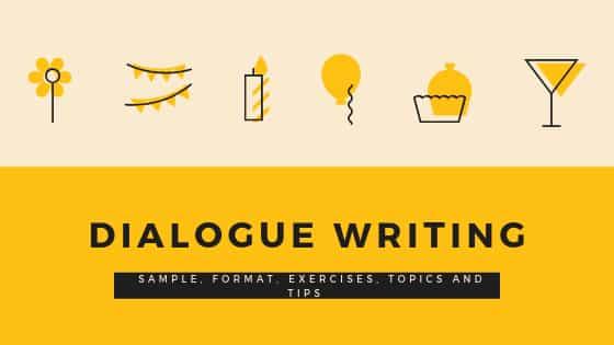 Dialogue Writing: Sample, Format, Exercises, Topics, and Tips