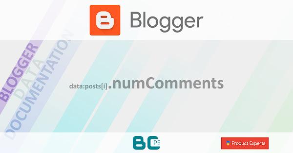 Blogger - Gadget Blog - data:posts[i].numComments