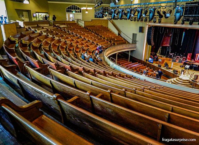 Nashville: Ryman Auditorium