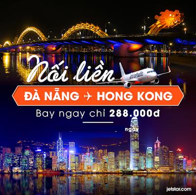 Jetstar Pacific mở đường bay quốc tế Đà Nẵng - Hồng Kông