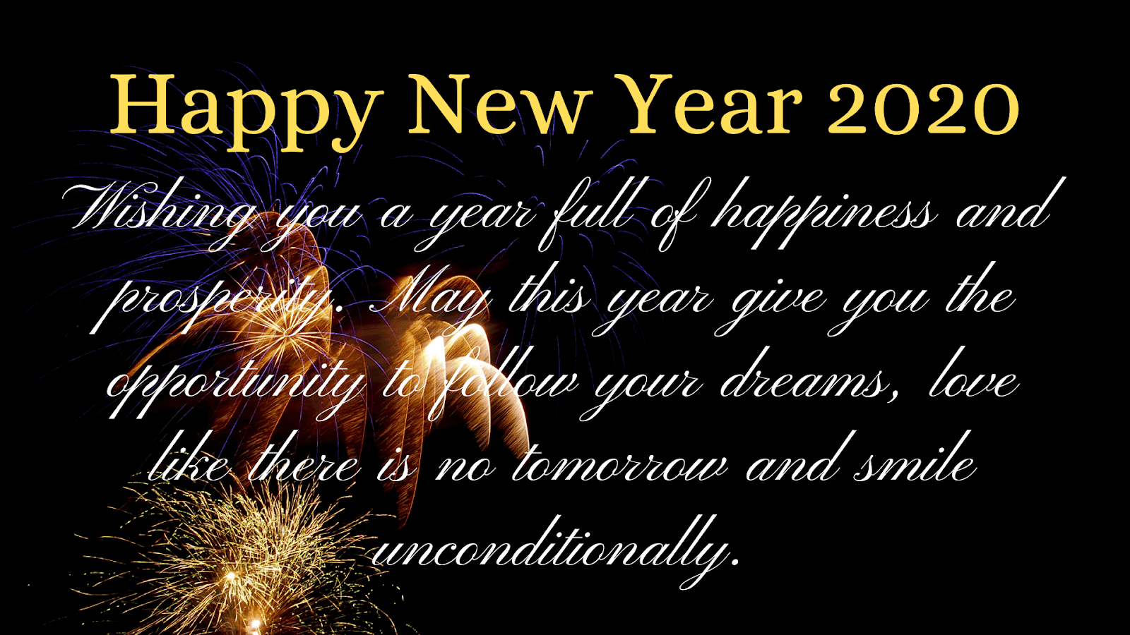 Best Top Happy New Year 2020 Images Wishes Quotes