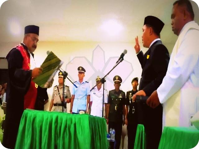 Frengky Limber Gantikan Simson Lobloby Jabat Ketua DPRD MTB