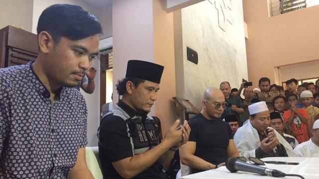 Usai Jalani Salat Jumat Perdana, Deddy Corbuzier Jadi Saksi Mualaf