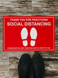 Social distancing - Photo by Jon Tyson on Unsplash