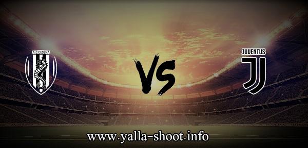 مشاهدة مباراة يوفنتوس وتشيزينا بث مباشر اليوم السبت 24-7-2021 يلا شوت الجديد لقاء ودي