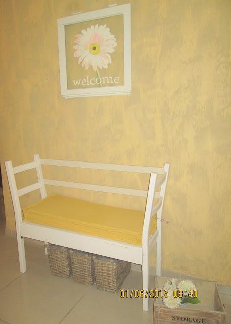 3 - בניית ספסל משני כיסאות