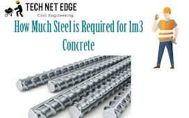 How Much Steel is Required for 1m3 Concrete