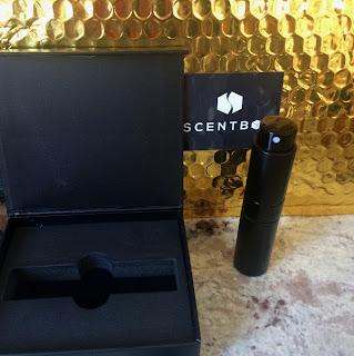 Scent Box keepsake box and unique fragrance