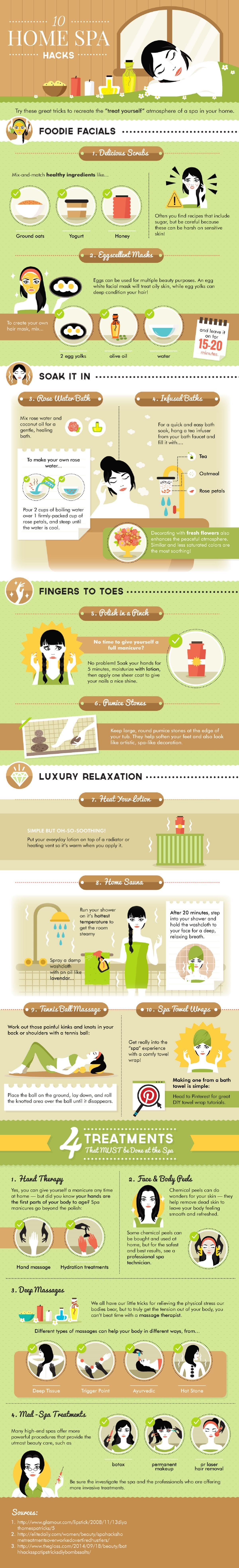 10-home-spa-hacks-infographic