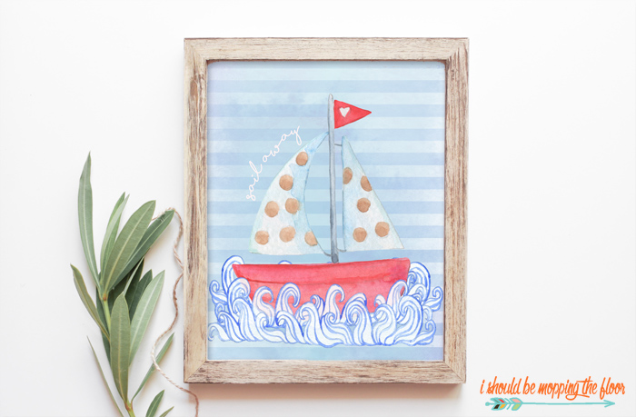 Nautical Summer Printables