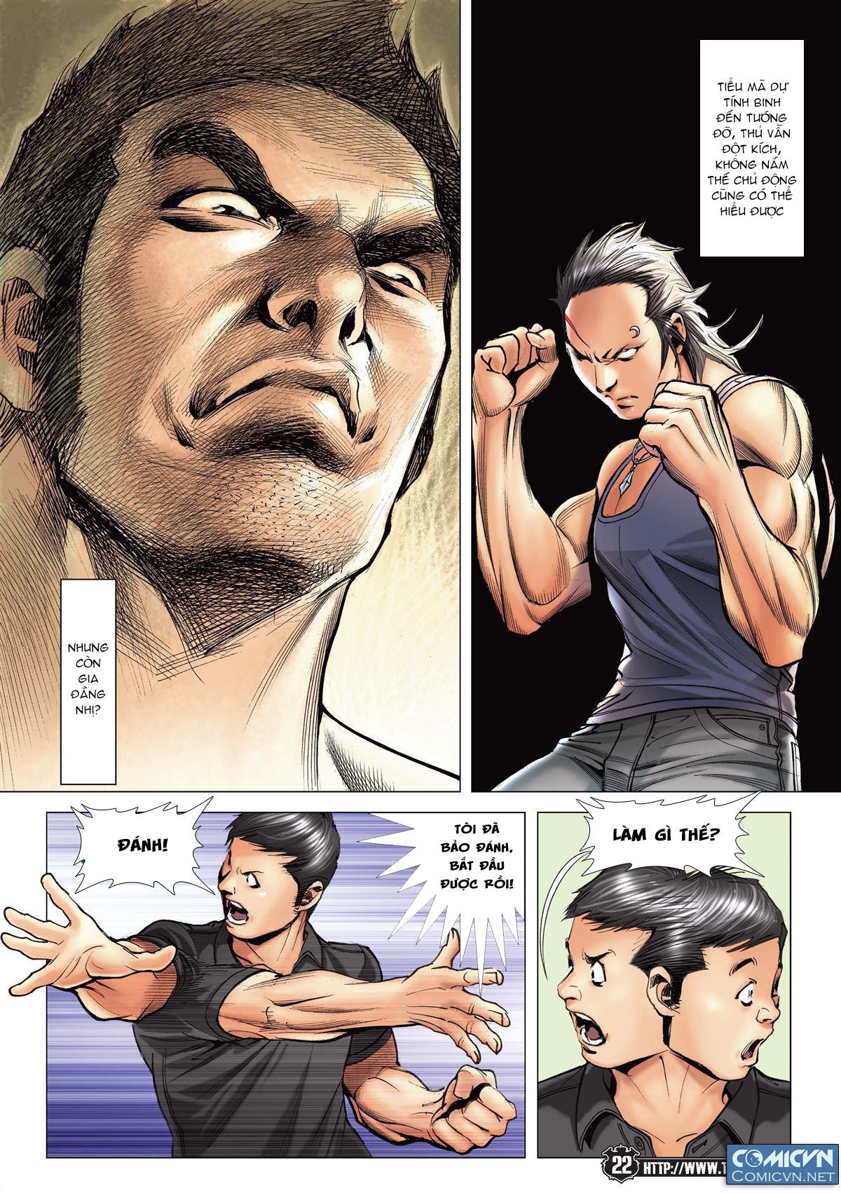 Người Trong Giang Hồ chapter 2148: tiểu mã vs gia đằng nhị trang 18