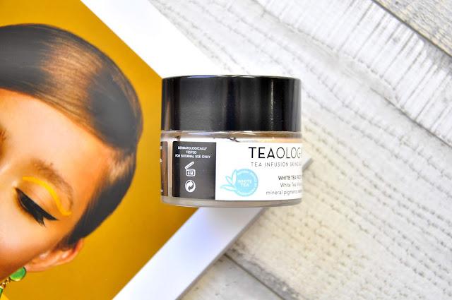 krem rozświetlający tealogy white tea face perfecting finisher