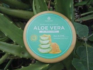 Review Azarine Aloevera Gel untuk kulit berminyak sensitif cenderung berjerawat