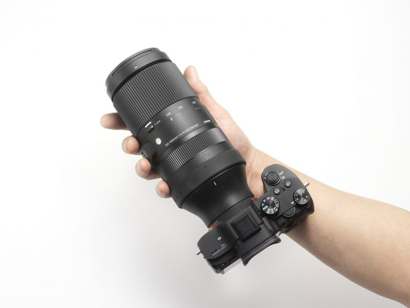 Sigma 100-400mm f/5-6.3 DG DN OS Contemporary с камерой Sony