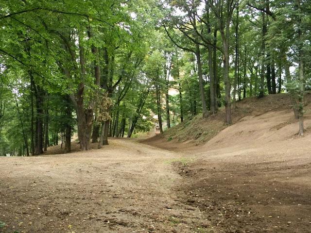 Park w Kamieńcu poddany jest rewitalizacji.