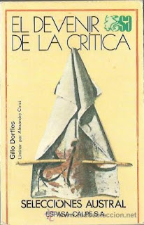 Gillo Dorfles - El devenir de la crítica