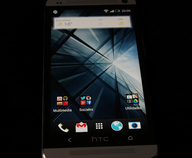 Pantalla Super LCD 1080p del HTC One