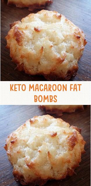 Keto Macaroon Fat Bombs
