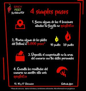 CONCURSO Festival de comida picante de Bogotá es SPICY FEST 2017