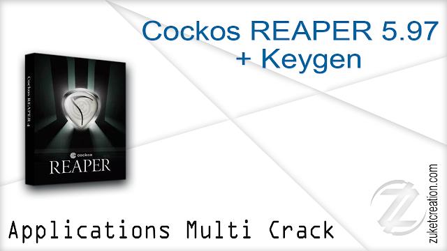 Cockos REAPER 5.97 + Keygen